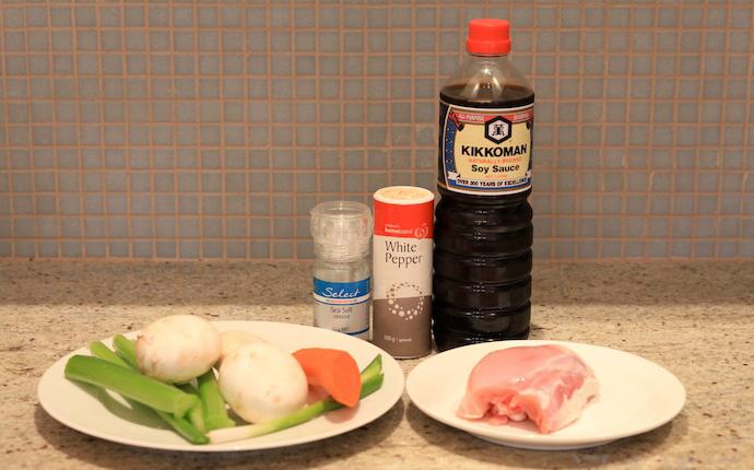 ingredients of Pan Fried Noodles