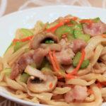 Pan Fried Noodles (Japanese Udon Noodles)