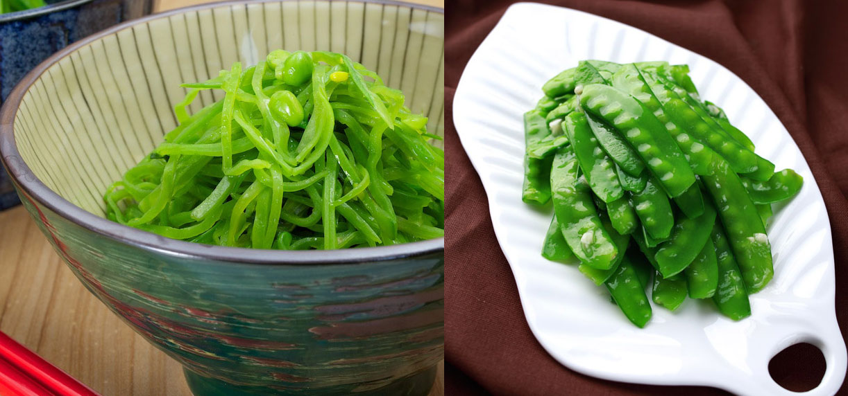 stir fry snow peas