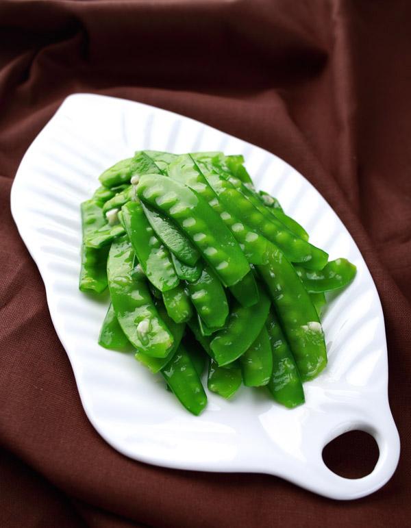 stir fry snow peas