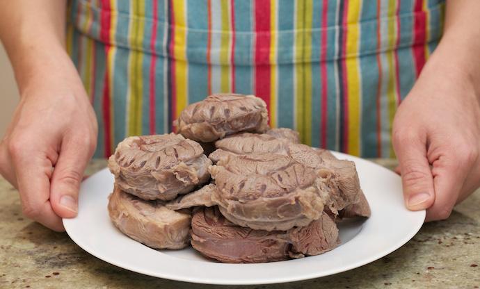 Chinese Braised Beef Shank step1