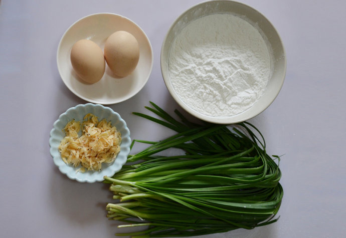 Chinese Chive Pancake Ingredient