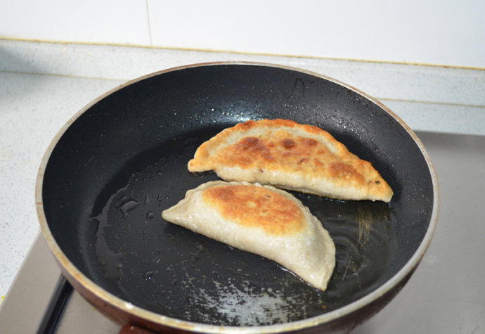 Chinese Chive Pancake step9