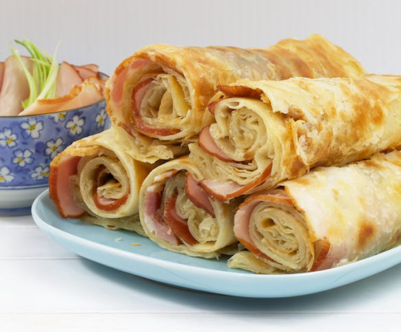 Chinese Pork Burritos