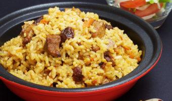 Xinjiang Rice Pilaf