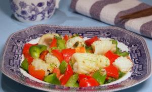 Squid Stir Fry – Chinese Squid Recipe