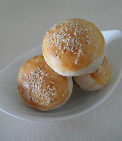 black pepper bun