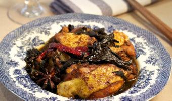 Chinese Braised Chicken And Mushroom