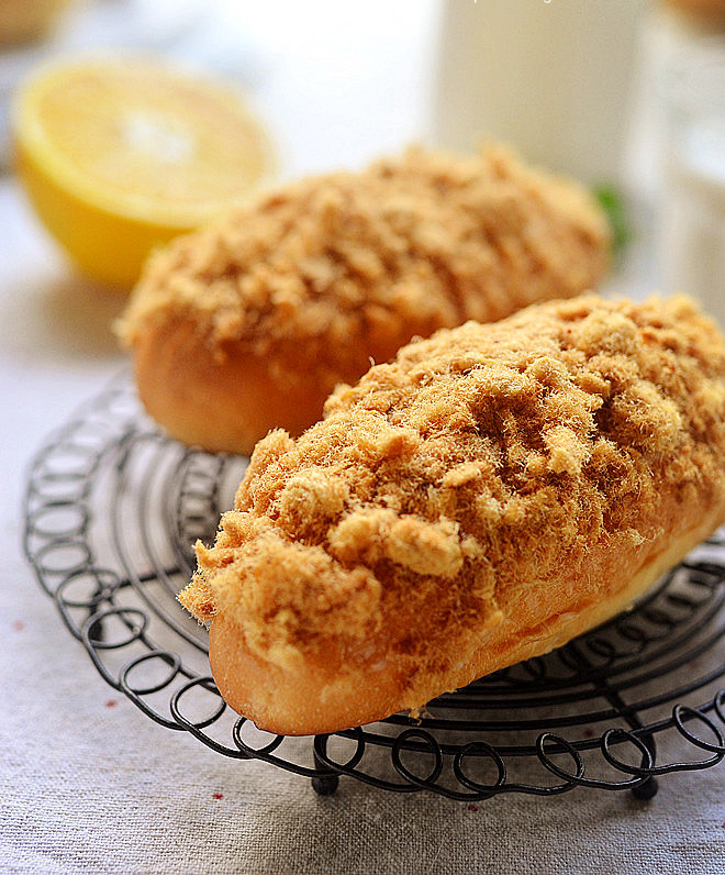 Pork Floss Bun - Yum Of China