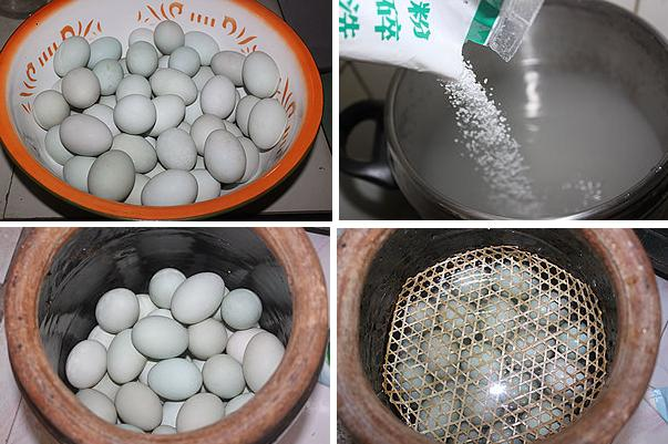 salted duck egg method1 steps