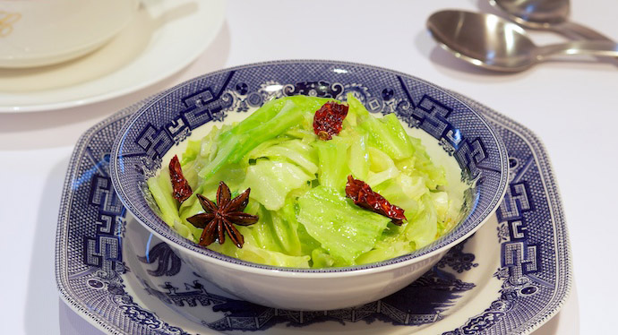 Chinese Cabbage Stir Fry