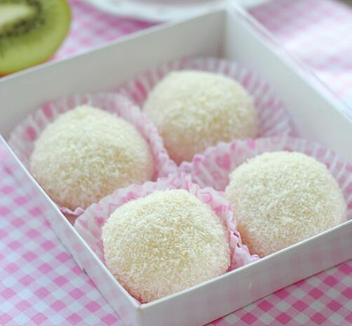 Chinese rice ball with Coconut