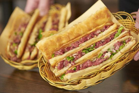 DONKEY MEAT SANDWICH