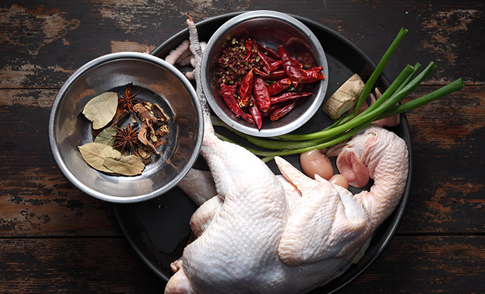Hot and Spicy Chicken ingredients