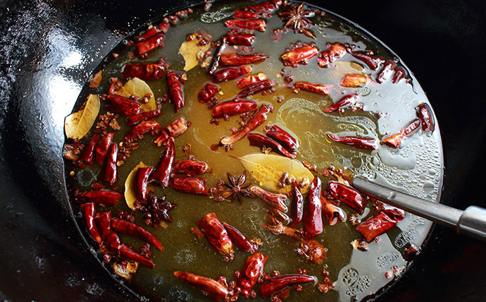 Hot and Spicy Chicken step6