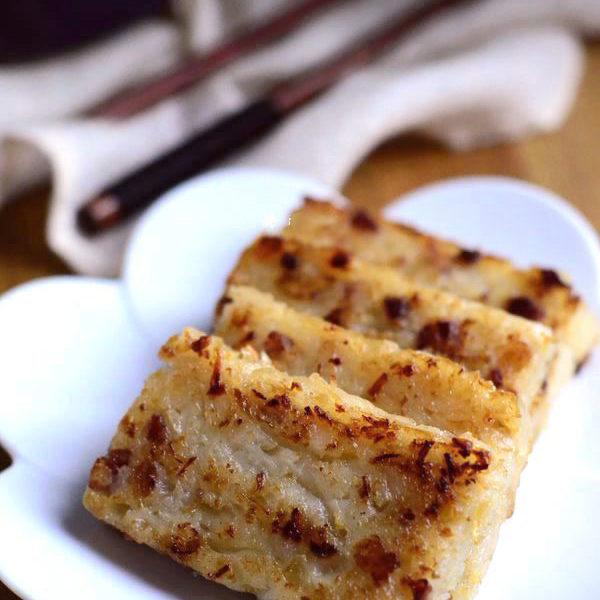 Turnip Cake (Radish Cake) – Chinese Lo Bak Go (update)