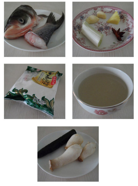 chinese fish soup Ingredients