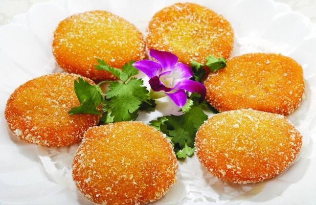 Chinese Pumpkin Cake