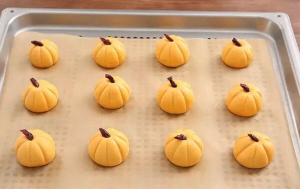 Steamed pumpkin cake Step17