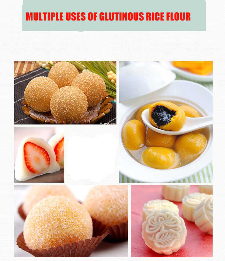 Multiple uses of Glutinous Rice Flour