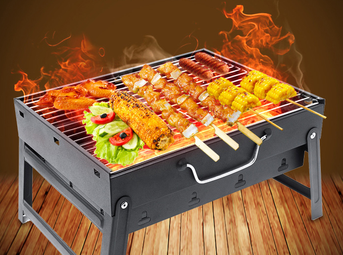CHARCOAL STAINLESS GRILL YAKITORI Grilled Chicken