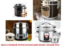 Rice Cooker With Stainless Steel Inner Pot – A Complete Guide