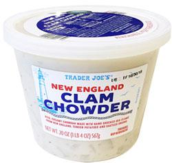 Trader joe's clam chowder
