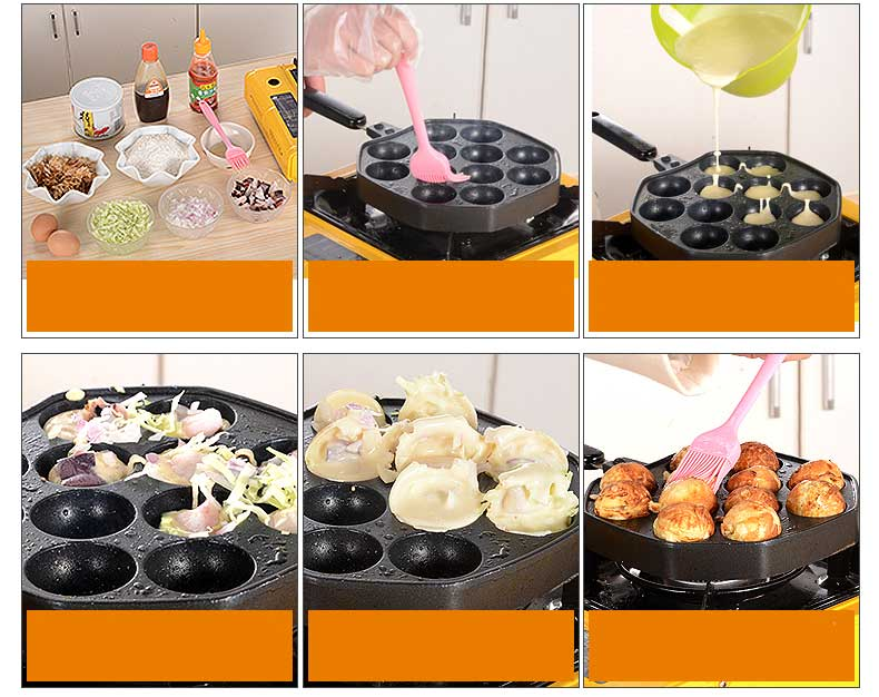 How to cook takoyaki