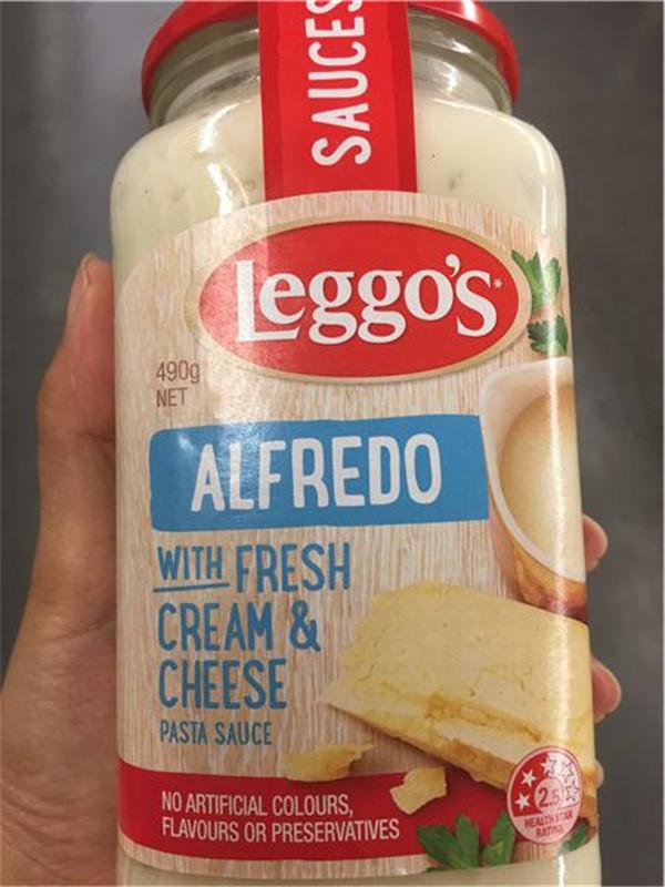 Store-Bought Alfredo Sauce