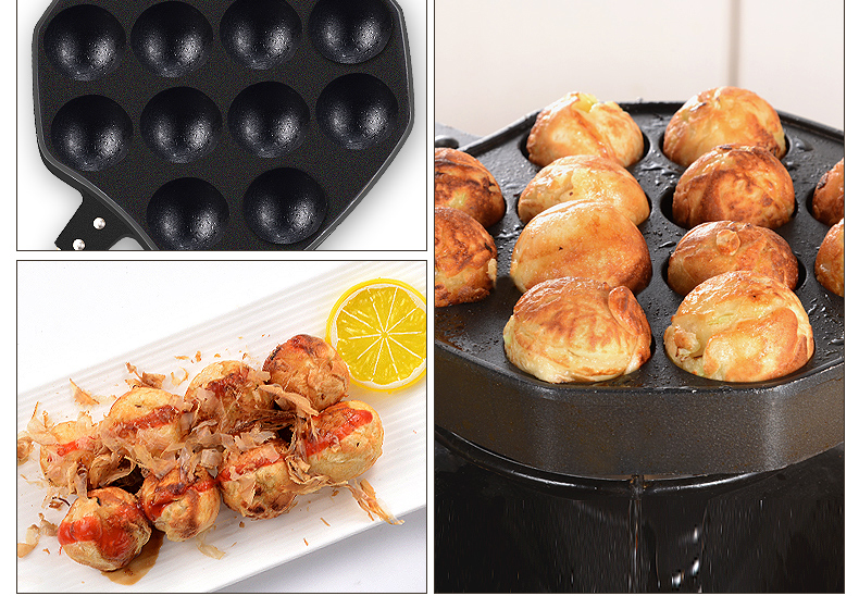 Use Takoyaki Pan