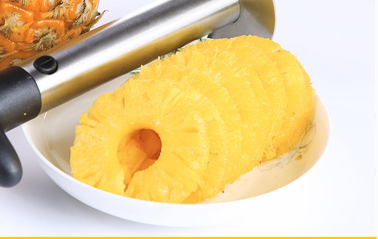 Finish corering Pineapple