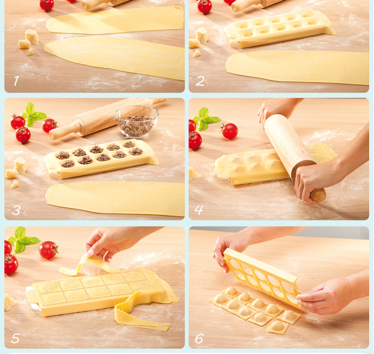 Step by step guide to make Ravioli