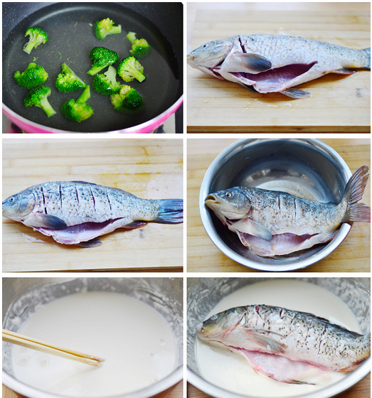 Sweet and Sour Fish step1-6