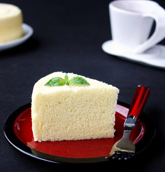 Chinese Steamed Sponge Cake
