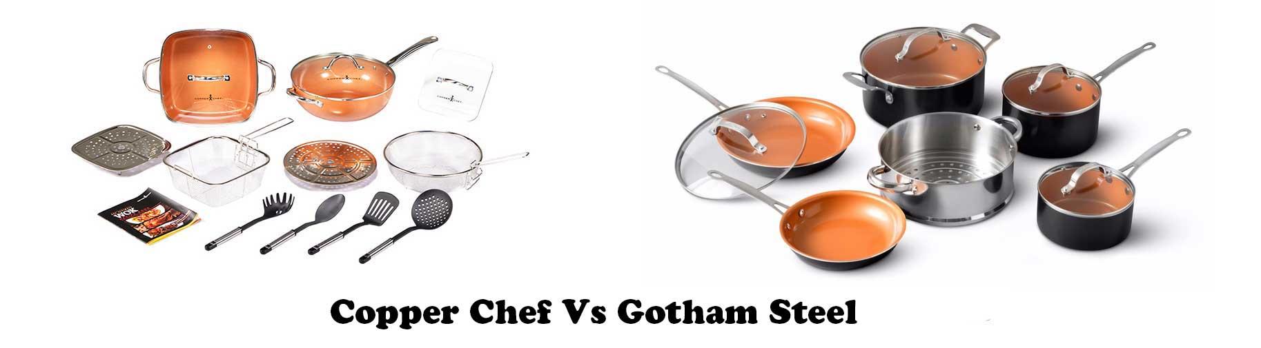 Gotham Steel Vs Copper Chef