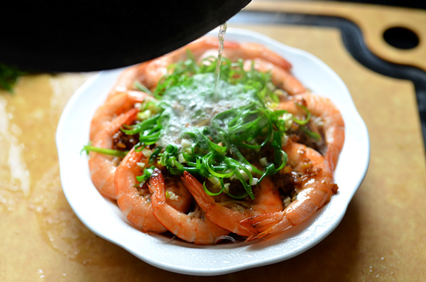 Shrimp With Garlic Sauce step11