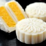 Snow Skin Mooncake With Milky Pineapple Filling