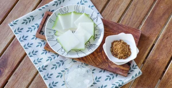 Winter Melon Tea ingredients