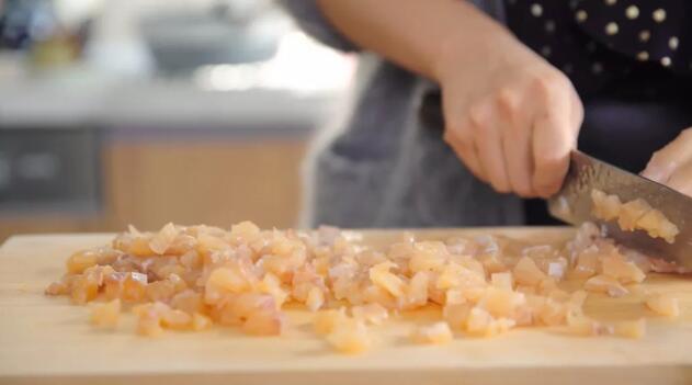 Dumpling stuffing step3