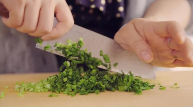 Dumpling stuffing step4