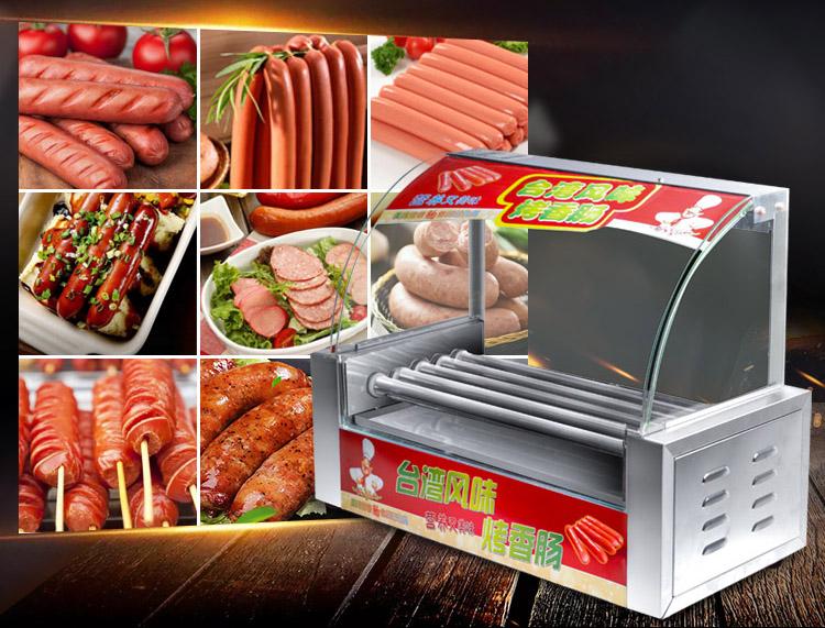Roller Grill Cooker Warmer Machine VIVO Electric 12 Hot Dog /& Five HOTDG-V005 5