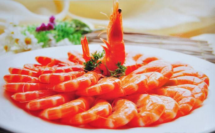 White Boiled Shrimp