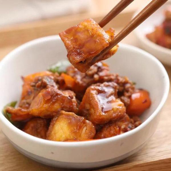 Home Style Tofu – Stir Fried Bean Curd