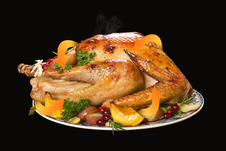 use turbo oven to cook chicken