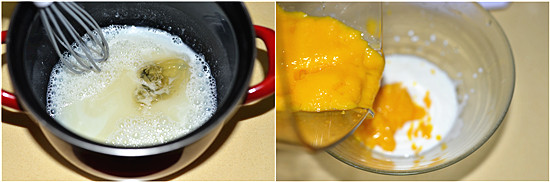 Mango Pudding steps1-2