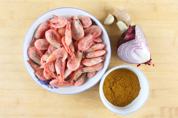 chinese curry shrimp ingredients
