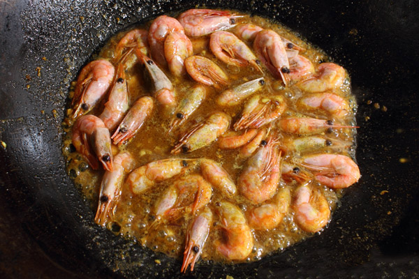 chinese curry shrimp step6