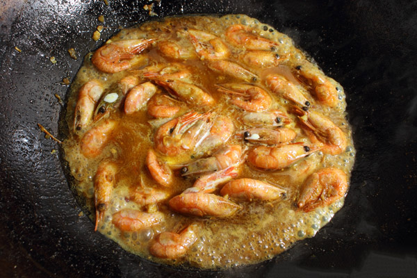 chinese curry shrimp step7-1