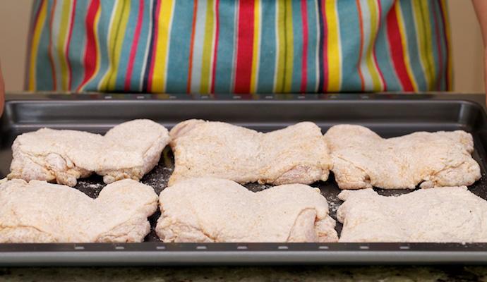 Deep Fried chicken step5