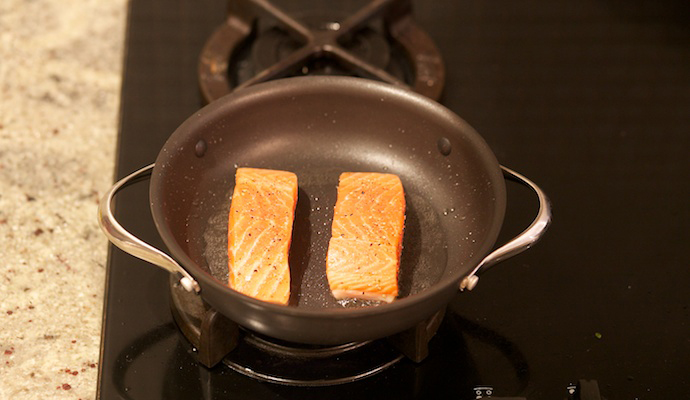 Pan Fried Salmon step7